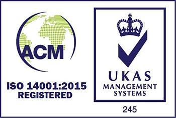 14001 ACM UKAS logo colour